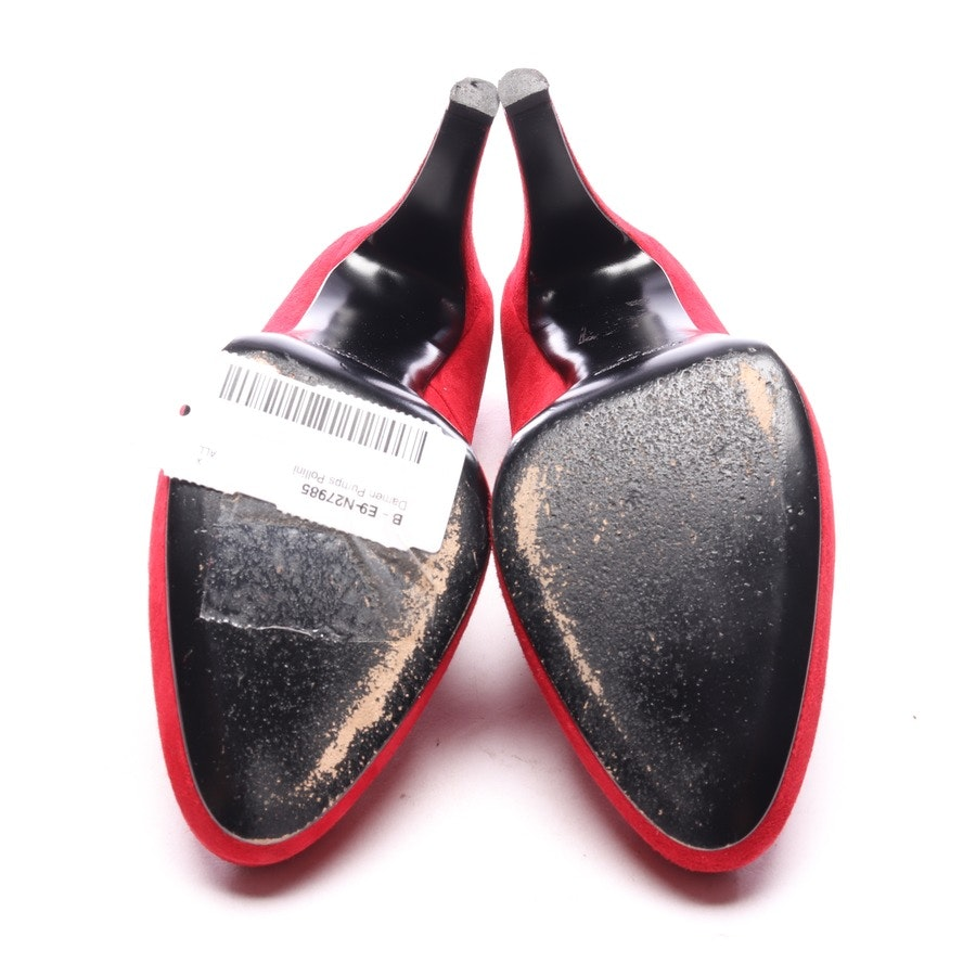 pumps from Pollini in red size EUR 37