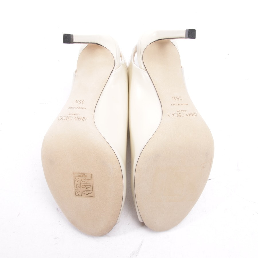 heeled sandals from Jimmy Choo in cream size D 35,5 - new