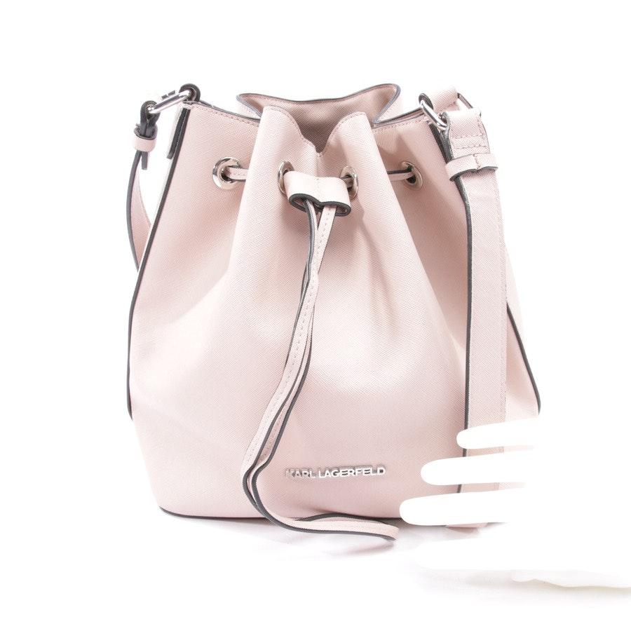 shoulder bag from Karl Lagerfeld in old pink