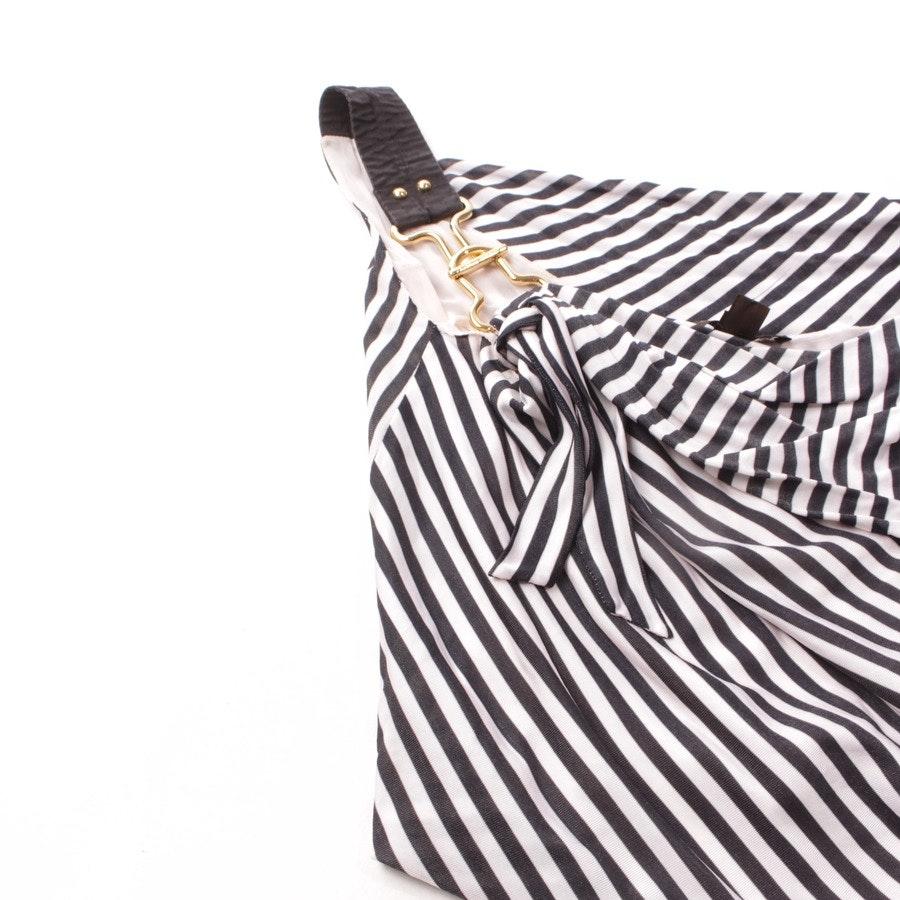 Zweiteiler von Louis Vuitton in Weiß und Schwarz Gr. DE 34 FR 36