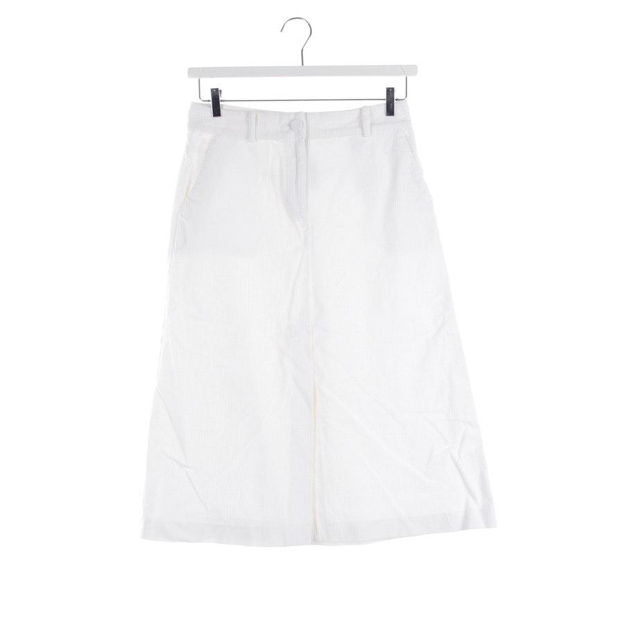 skirt from Stefanel in wool white size DE 36
