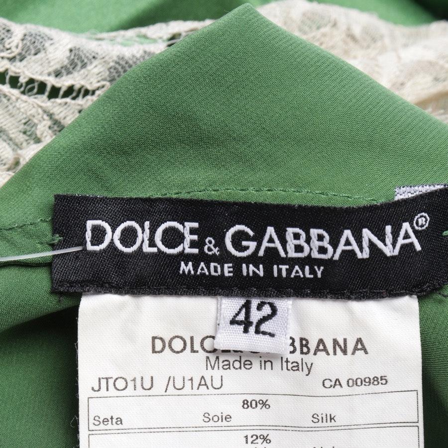 Top von Dolce & Gabbana in Smaragdgrün Gr. 36 IT 42