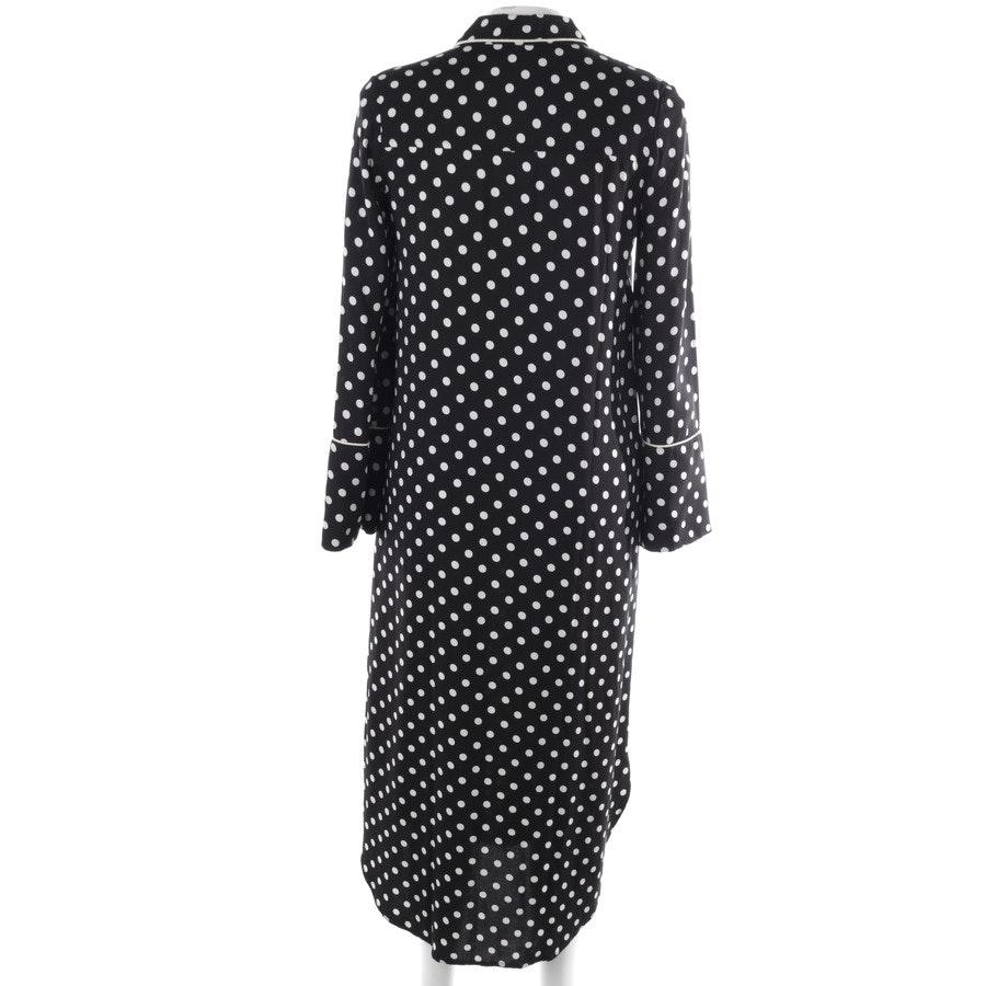 Kleid von Essentiel Antwerp in Schwarz und Weiß Gr. 34