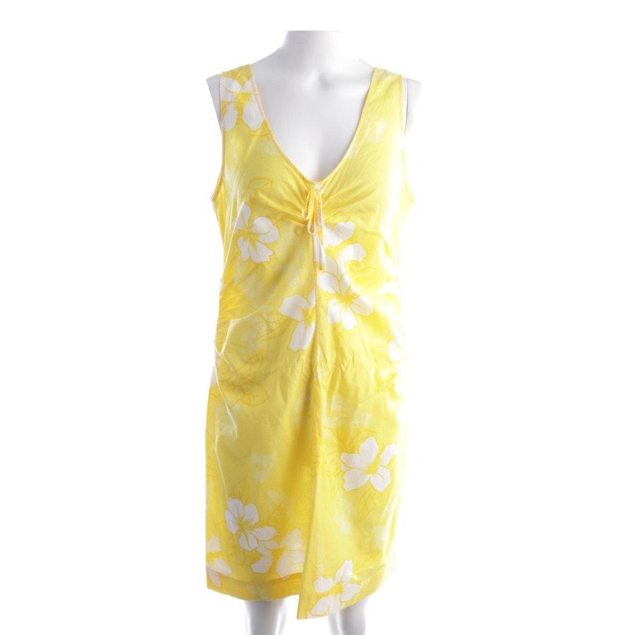 Sommerkleid von Marc O'Polo in Gelb und Weiß Gr. 38