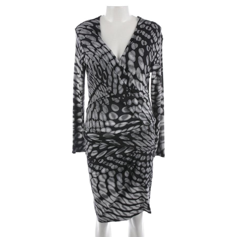 Kleid von Marc Cain in Schwarz und Grau Gr. 42 N5