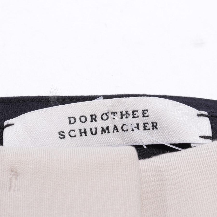 Hose von Dorothee Schumacher in Beige und Schwarz Gr. 36 / 2 - Neu