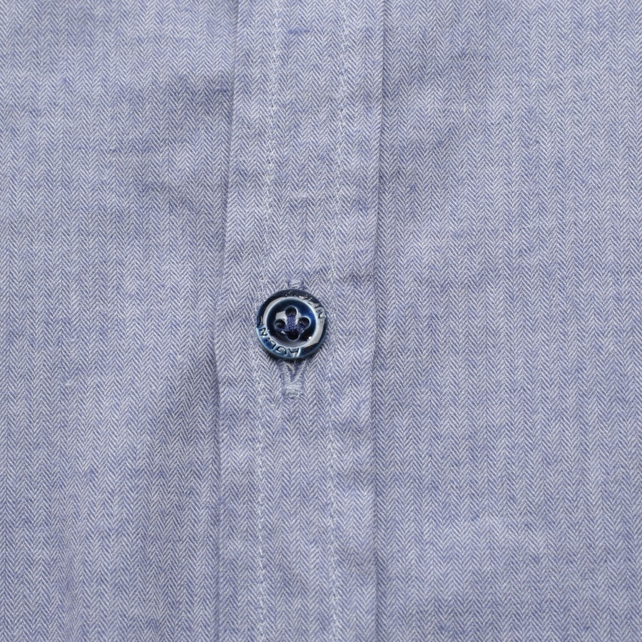 business shirt from Aglini in blue size 44 - new