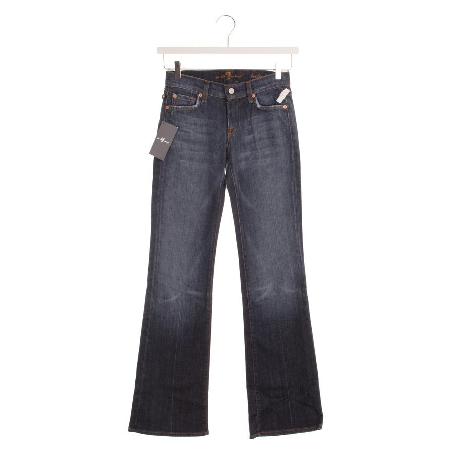 Jeans von 7 for all mankind in Blau Gr. W25
