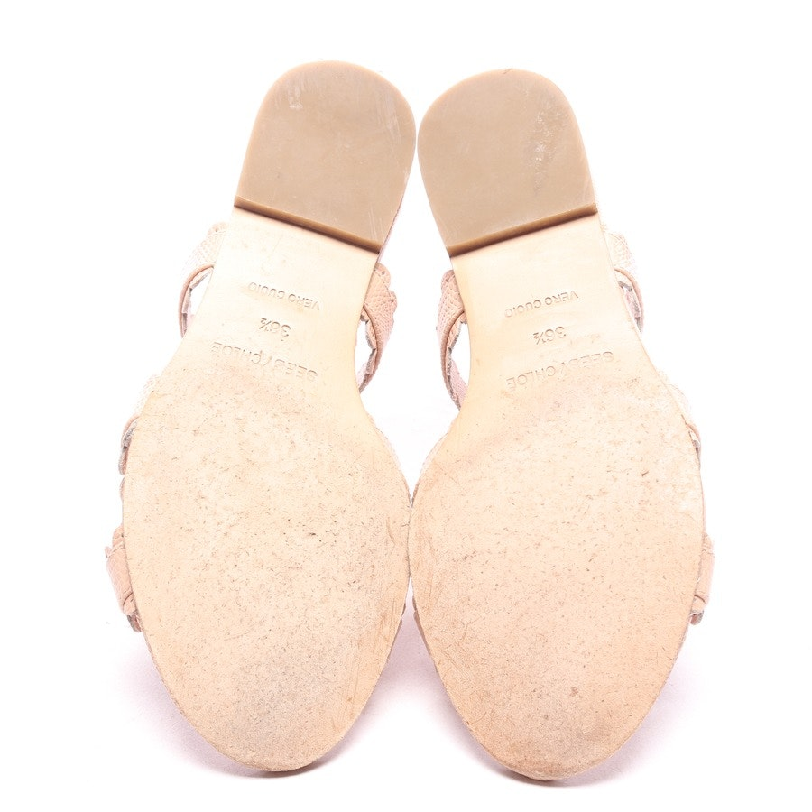 flat sandals from See by Chloé in pink size EUR 36,5