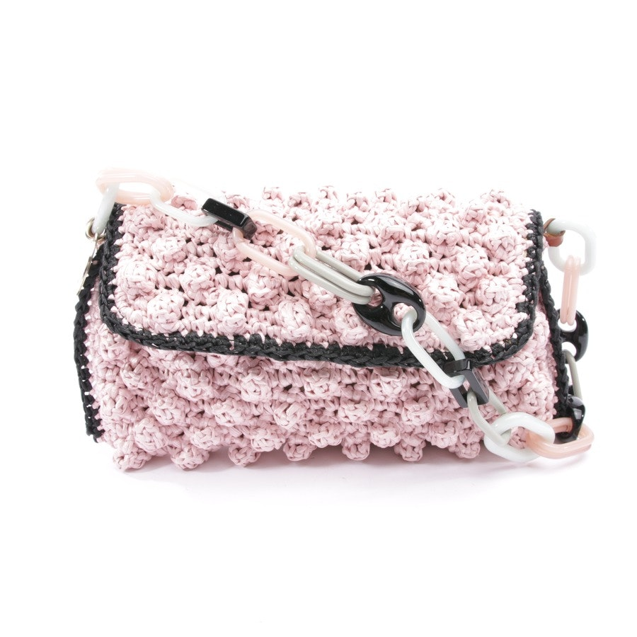 shoulder bag from Missoni M in pink and black