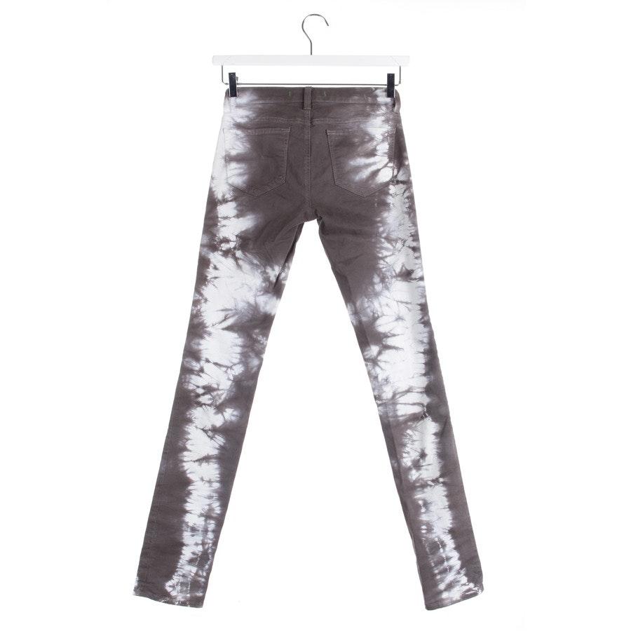 Jeans von J Brand in Grau und Weiß Gr. W26