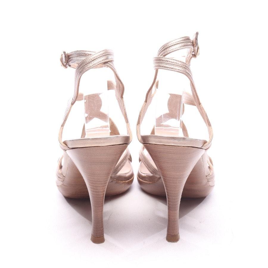 Sandaletten von Pura López in Bronze Gr. EUR 38,5