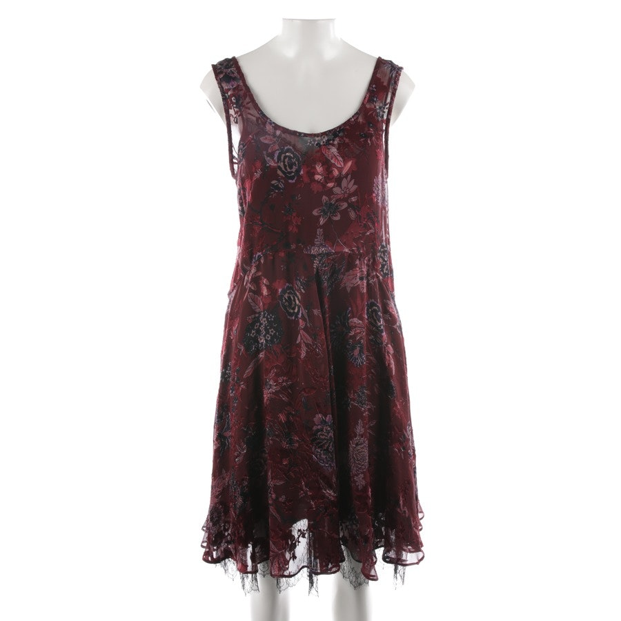 dress from Etro in wine red and purple size 38 IT 44