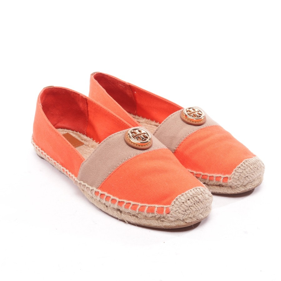 loafers from Tory Burch in orange and brown size EUR 40 US 9,5