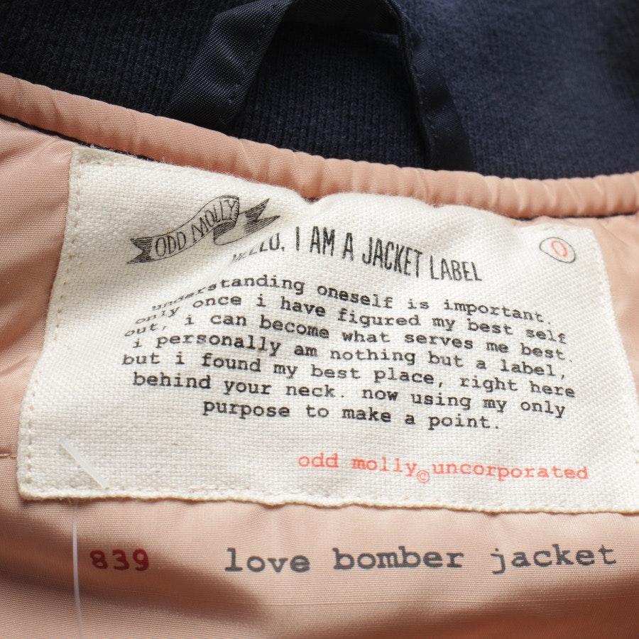 Bomberjacke von Odd Molly in Marineblau Gr. 34