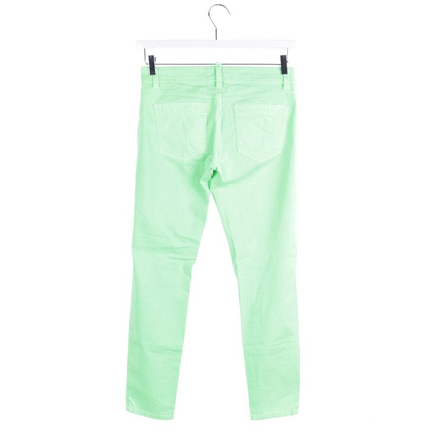 Jeans von Marc O'Polo in Neon Grün Gr. W28 - Skara Cropped