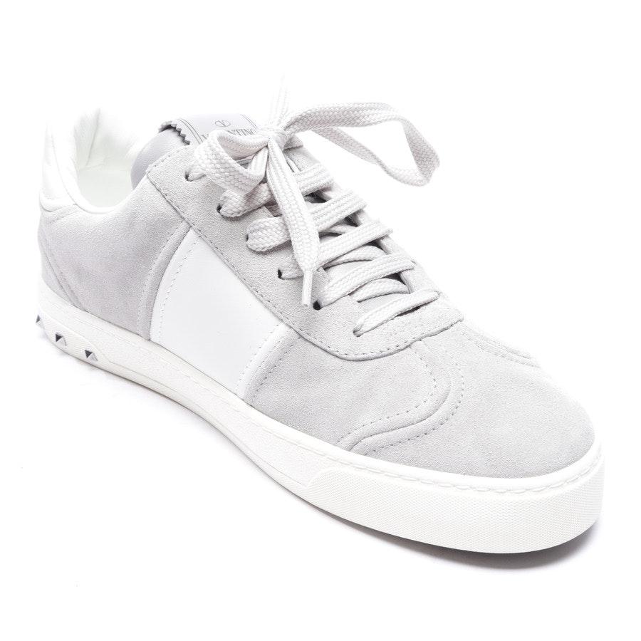Sneaker von Valentino in Hellgrau und Weiß Gr. EUR 37 - Rockstud