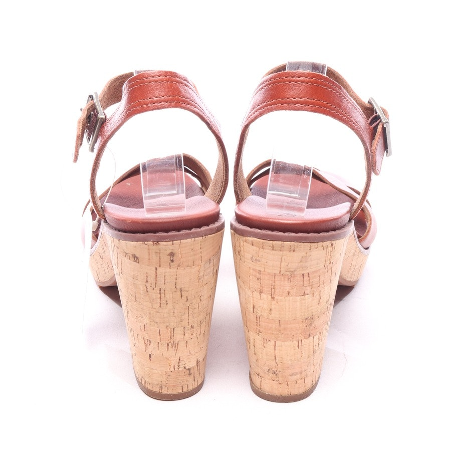 heeled sandals from Timberland in cognac size EUR 41,5
