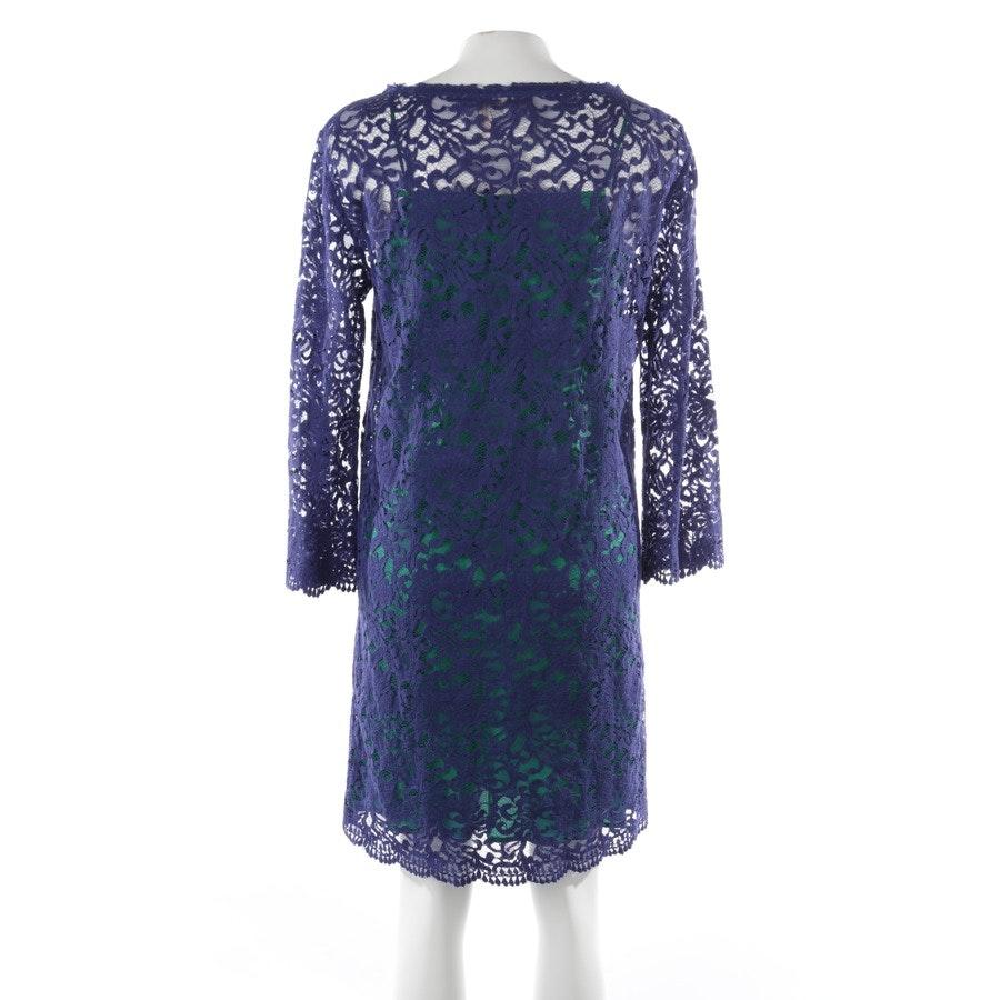 Kleid von Erika Cavallini in Blau und Grün Gr. 40 IT46