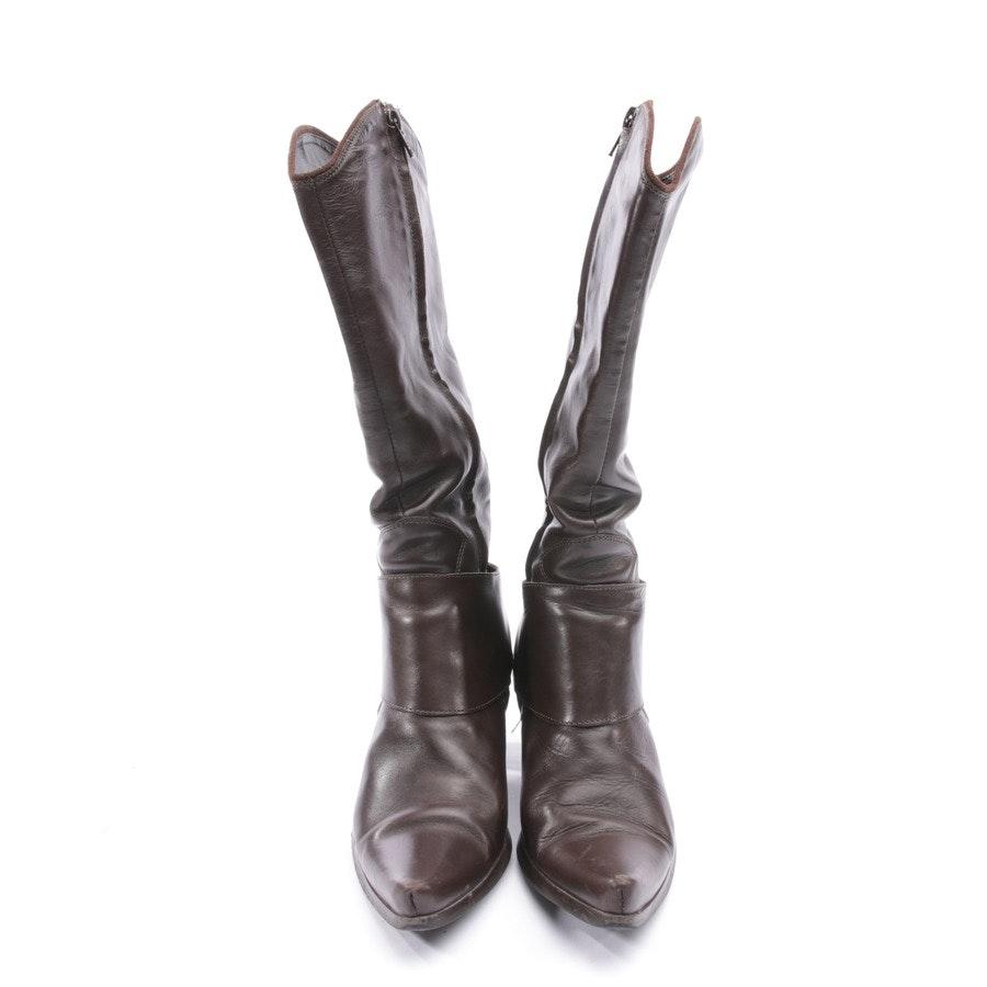 Stiefel von Vic Matié in Dunkelbraun Gr. EUR 37