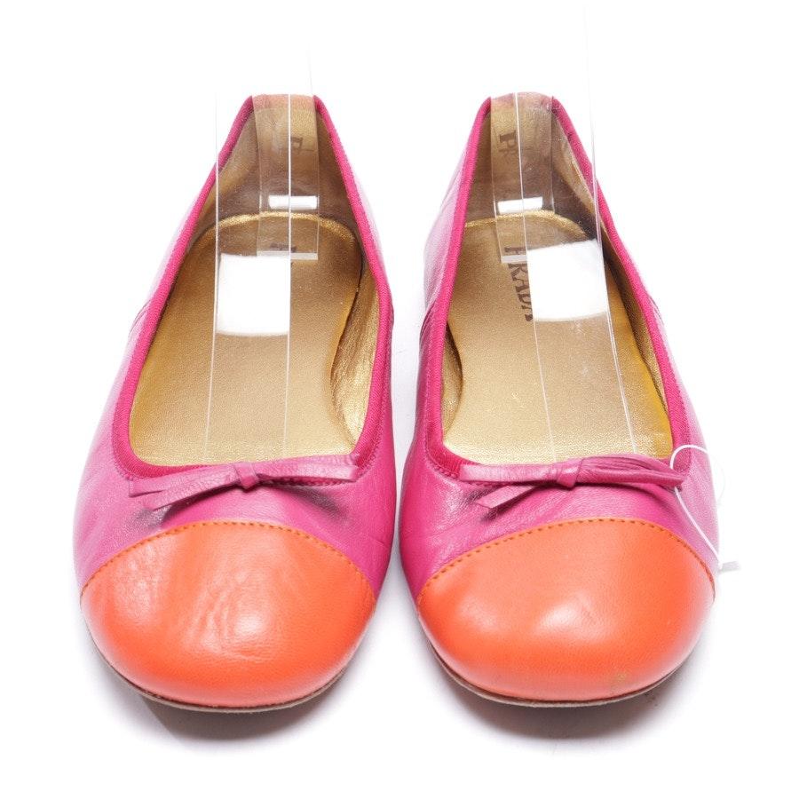 Ballerinas von Prada in Rosa und Orange Gr. EUR 37