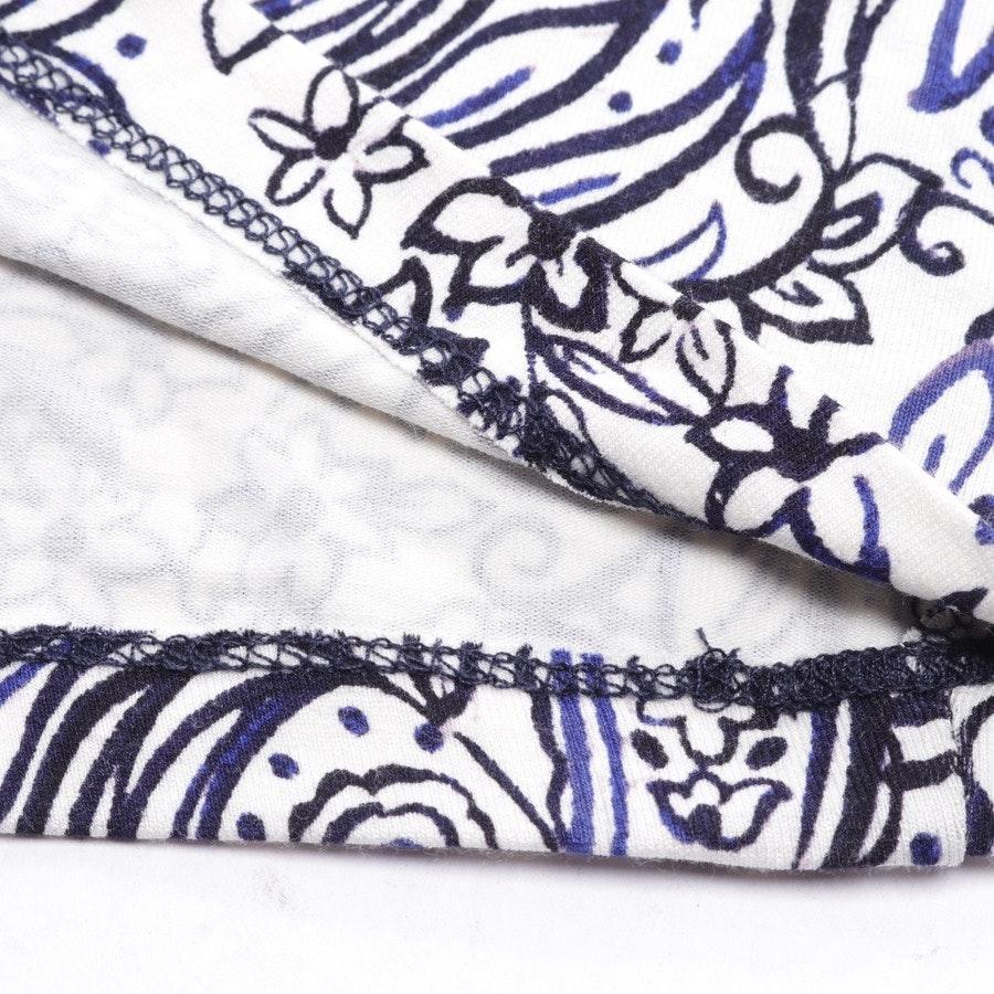 Maxikleid von Rachel Zoe in Weiß und Blau Gr. S - Neu