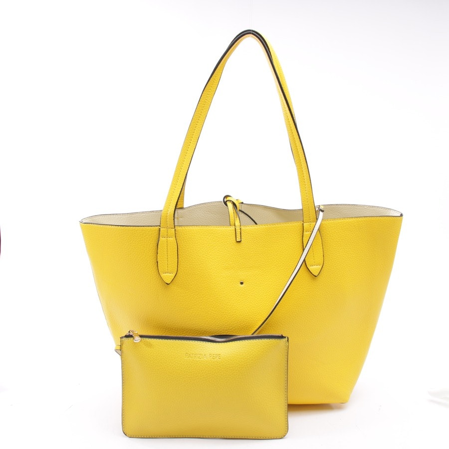 shoulder bag from Patrizia Pepe in sun-yellow
