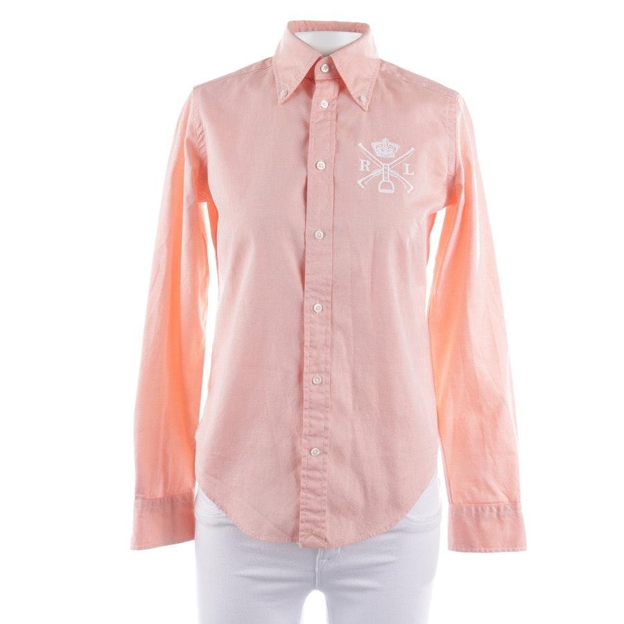 Bluse von Polo Ralph Lauren in Lachsrosa Gr. 32 US 2
