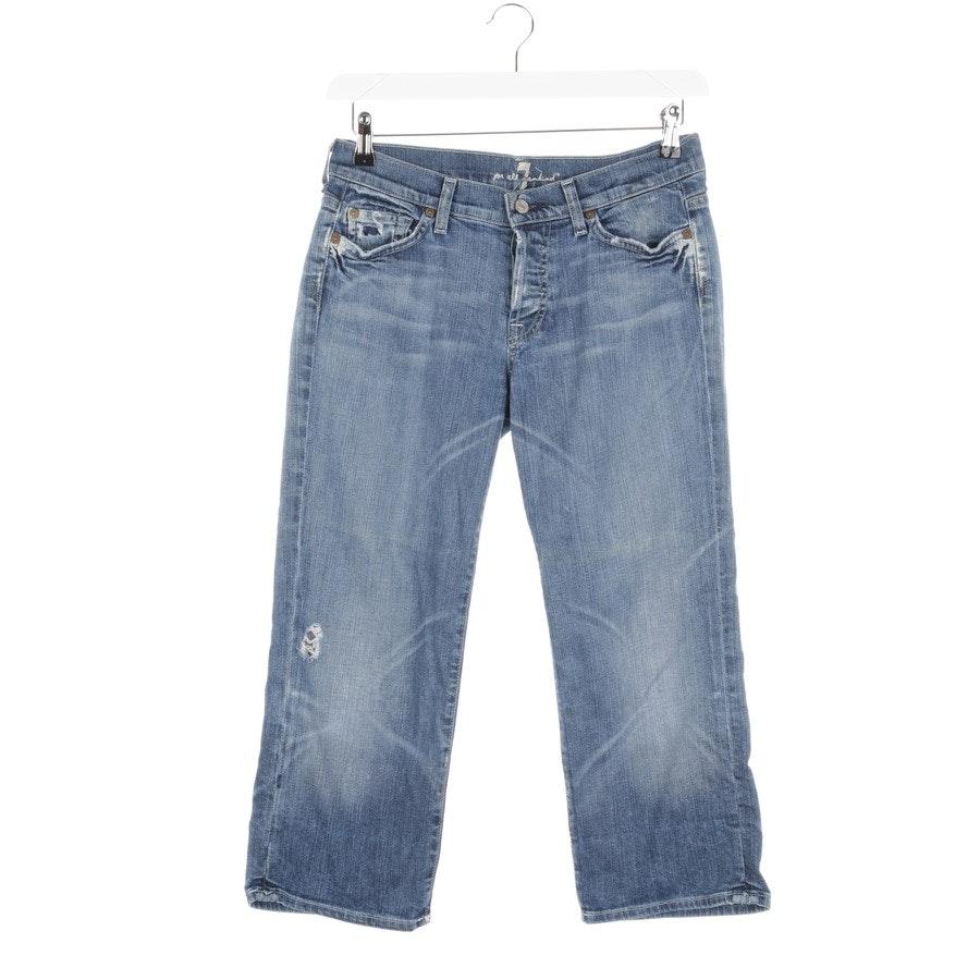 Shorts von 7 for all mankind in Blau Gr. W28