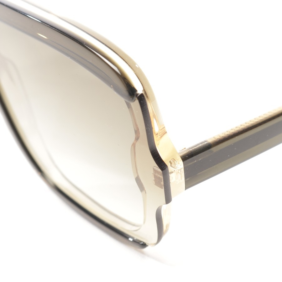 sunglasses from Victoria Beckham in green and yellow - vb609s