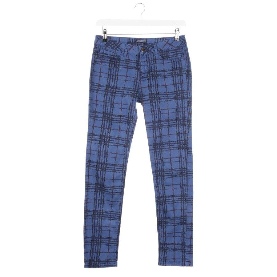 Jeans von Tommy Hilfiger in Blau und Rot Gr. 36 US 6