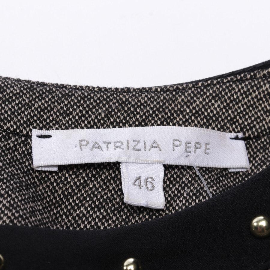 Kleid von Patrizia Pepe in Schwarz und Beige Gr. 40 IT46