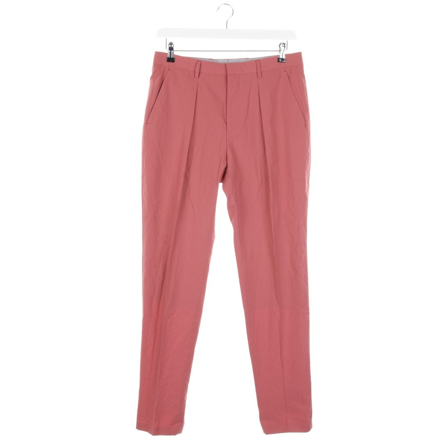 trousers from Hugo Boss Black Label in raspberry size 48