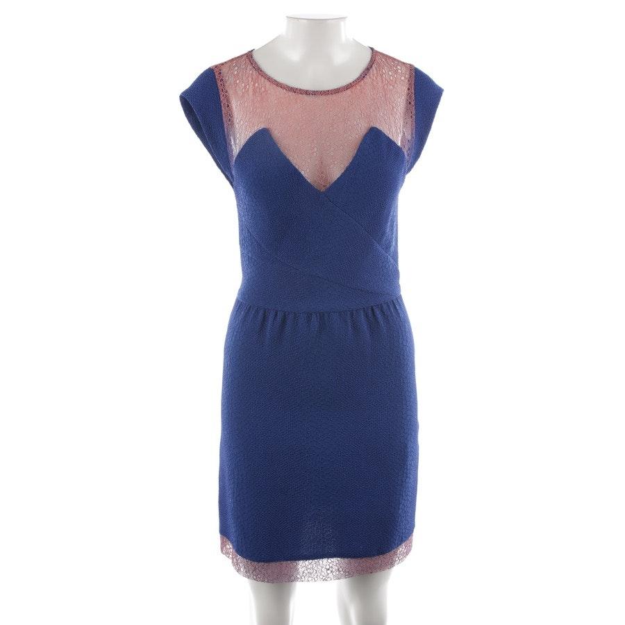Kleid von The Kooples in Blau und Rosa Gr. 2XS