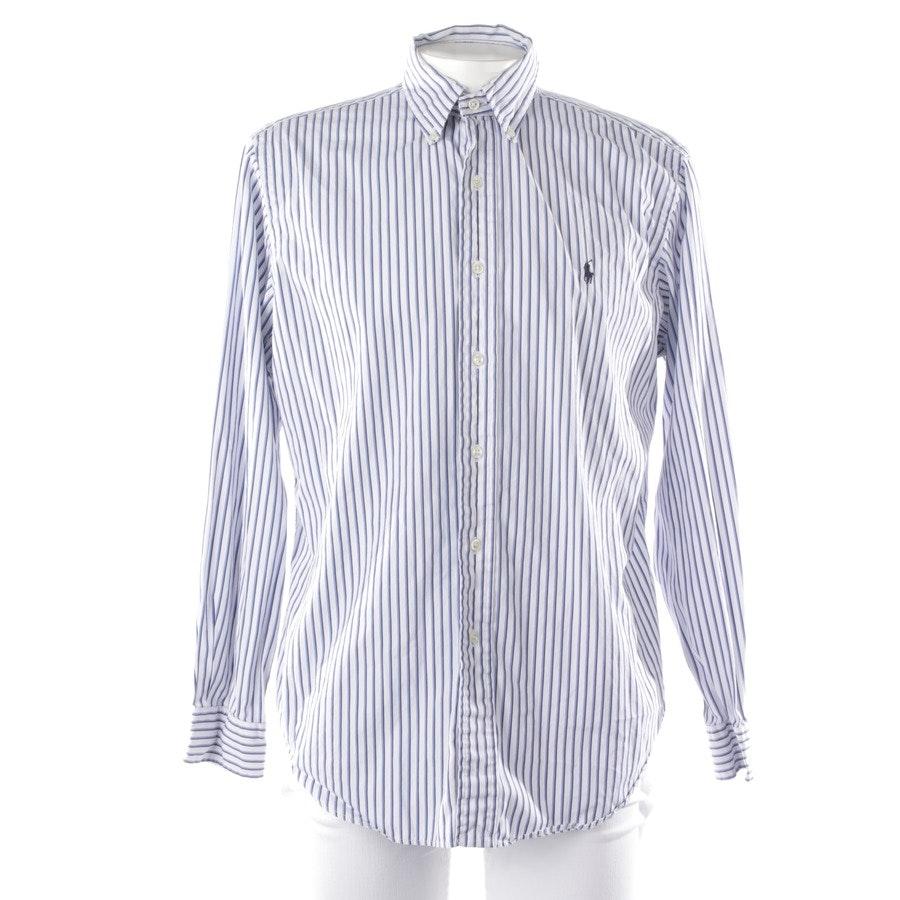 Freizeithemd von Polo Ralph Lauren in Blau und Weiß Gr. 45-46