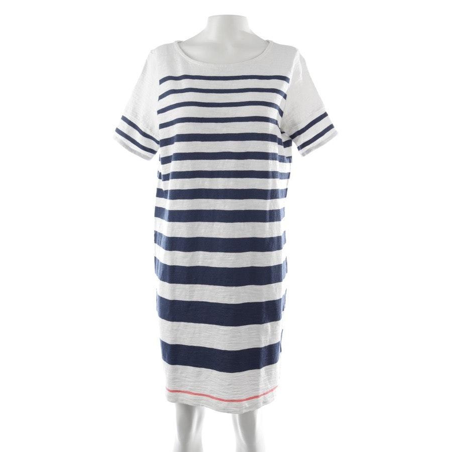 Kleid von Marc O'Polo in Weiß und Blau Gr. XS