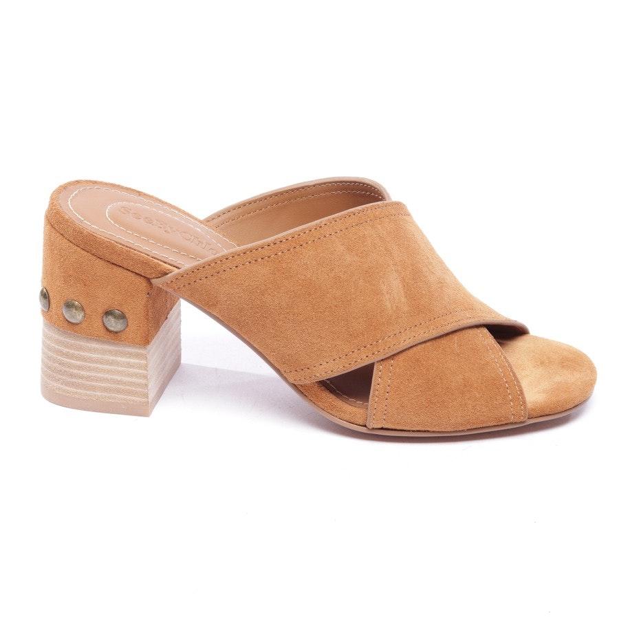 Sandaletten von See by Chloé in Braun Gr. EUR 37