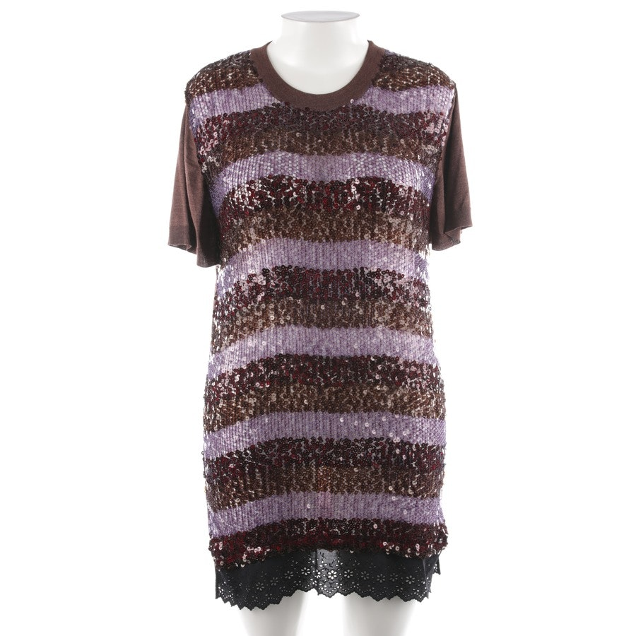 dress from Louis Vuitton in cocoa brown and purple size L