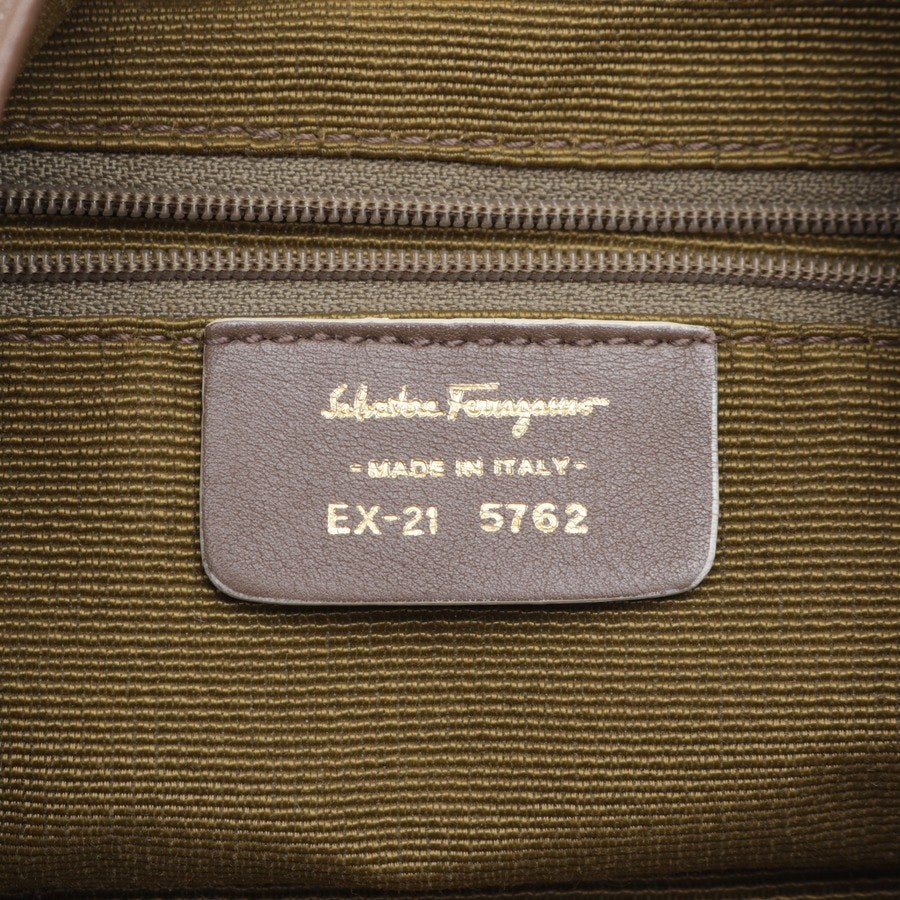 non-leather bags from Salvatore Ferragamo in beige and grey