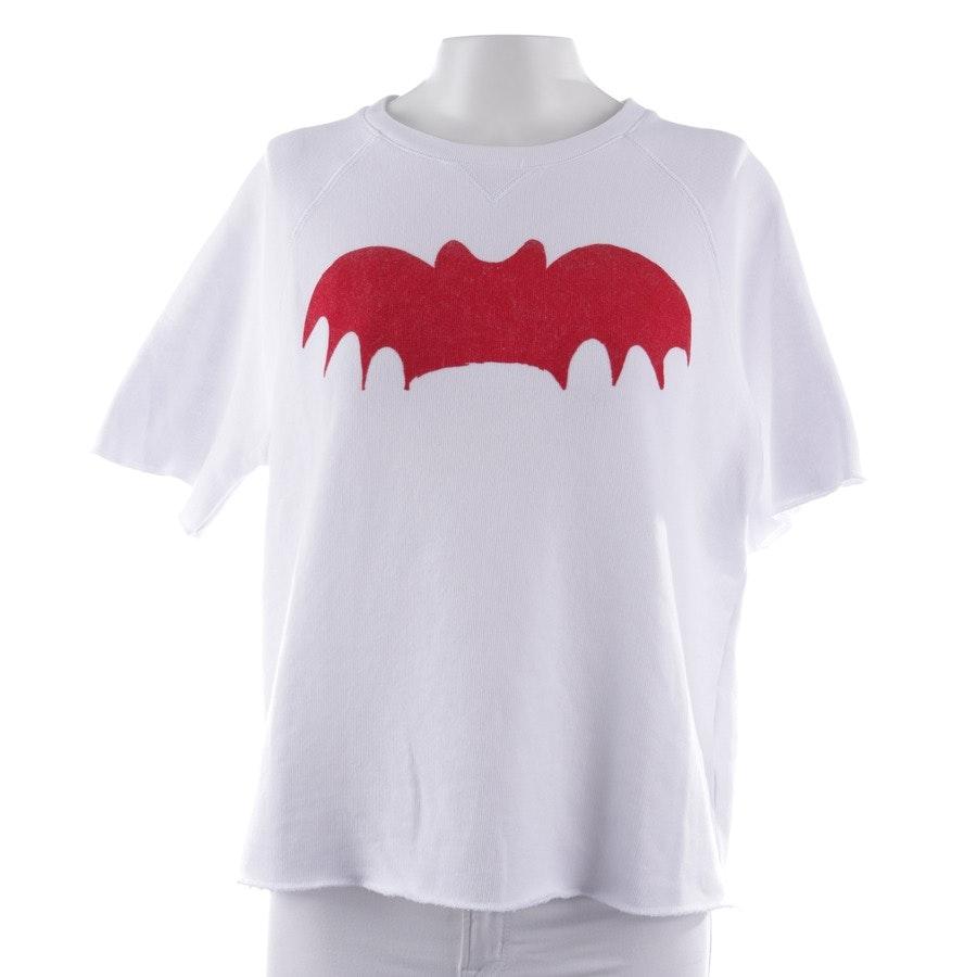 Sweatshirt von Zoe Karssen in Weiß und Rot Gr. M