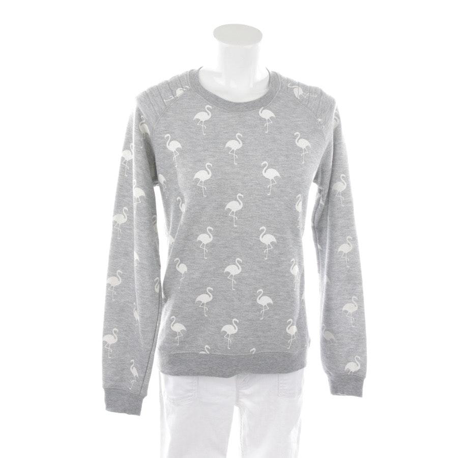 Sweatshirt von Zoe Karssen in Graumelange Gr. M