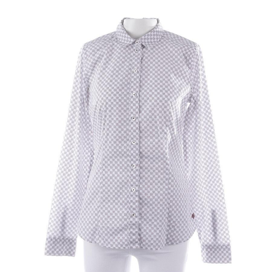 Bluse von Marc O'Polo in Weiß und Schwarz Gr. 34