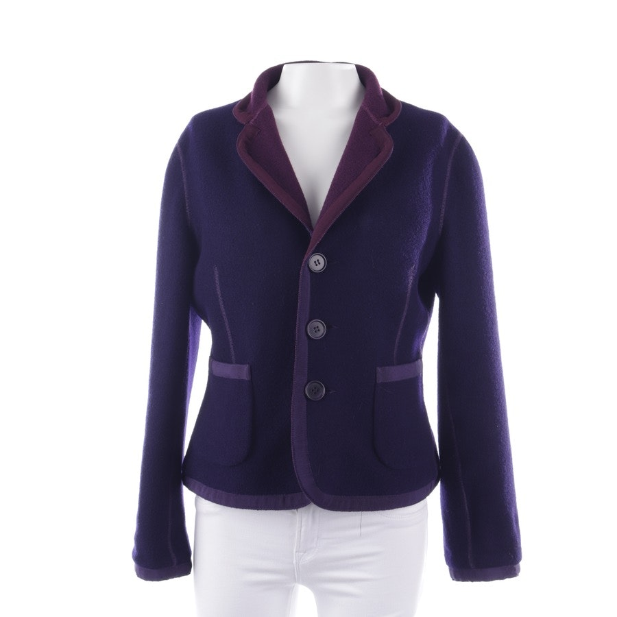 blazer from Akris in violet and blue size 44
