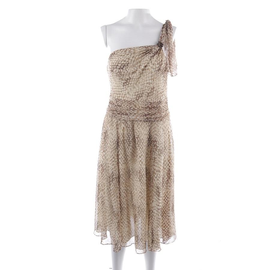 Seidenkleid von Lauren Ralph Lauren in Beigebraun Gr. 32 US 2