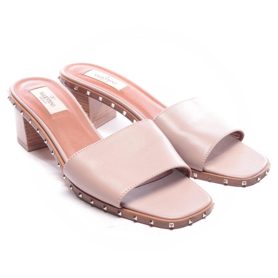 Sandaletten von Valentino in Rosenholz Gr. EUR 40,5 - Rockstud