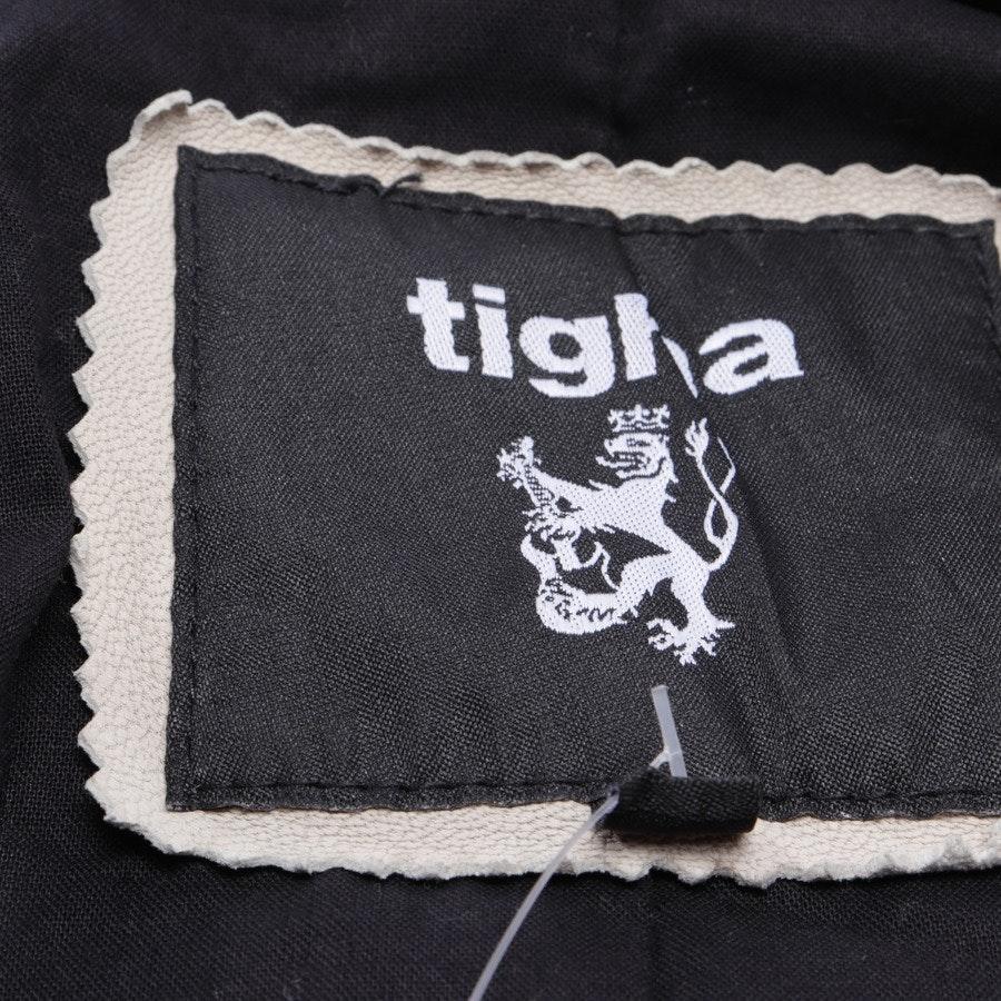 Lederjacke von Tigha in Beige Gr. M