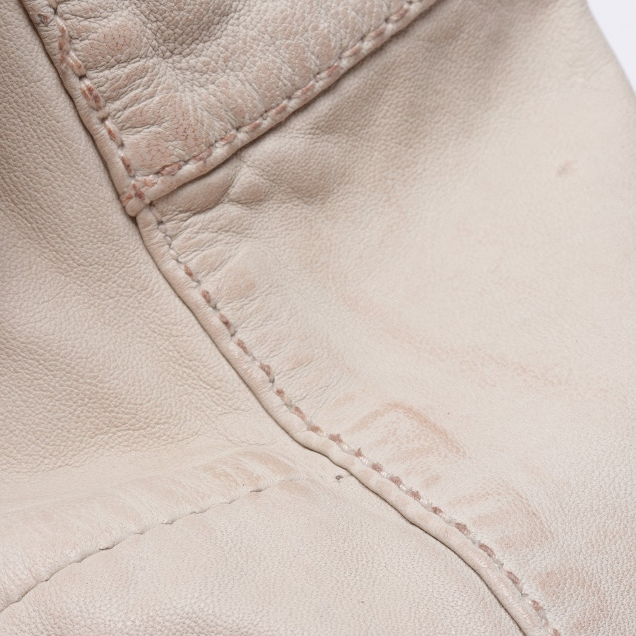 leather jacket from Tigha in beige size M