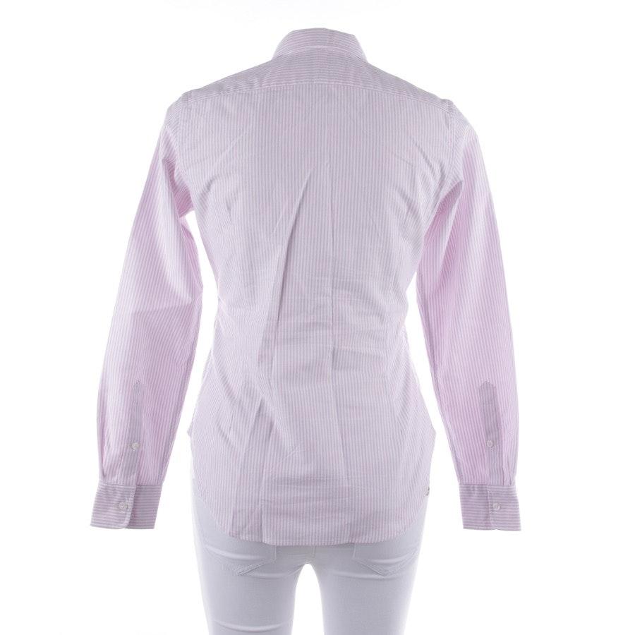 Bluse von Polo Ralph Lauren in Flieder und Weiß Gr. 34 US 4