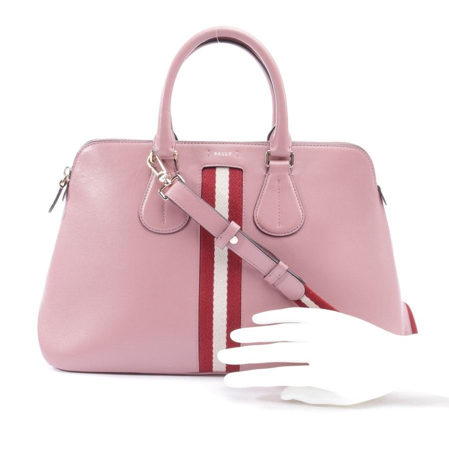 handbag from Bally in old pink