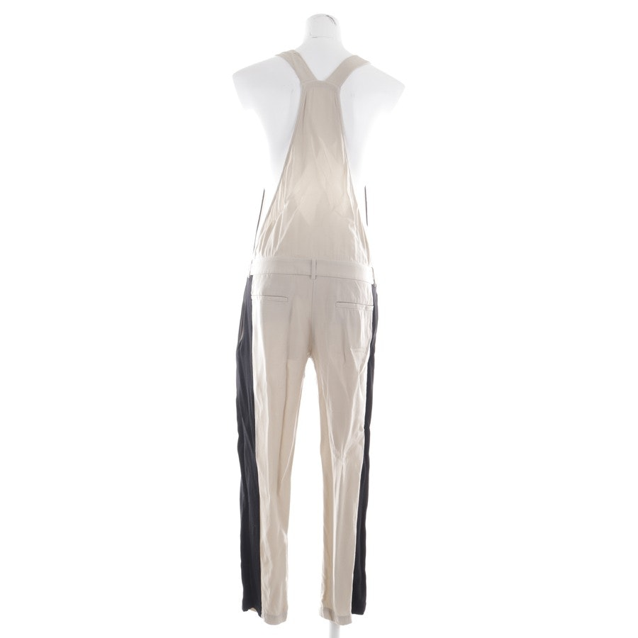 jumpsuit from 8pm in powder and black size S